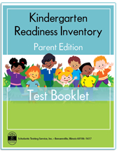 Kindergarten Readiness Inventory-Parent Edition - Product Image